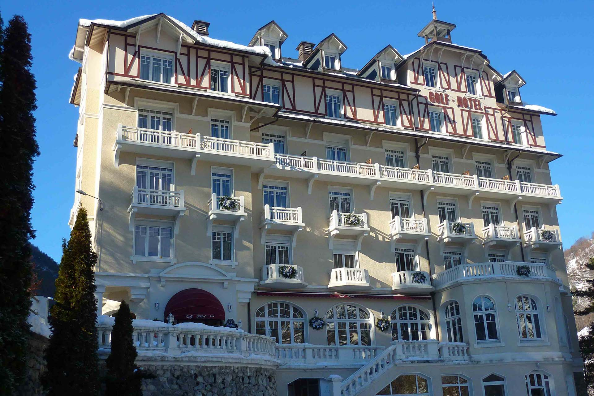 Charmant The Golf Hôtel**** In Brides Les Bains: A Stoneu0027s Throw From The Spa Centre  And The 3 Vallées®